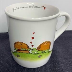 Hallmark Rimshots Vintage 1980s Mug with Turtle
